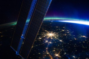 moscow from ISS